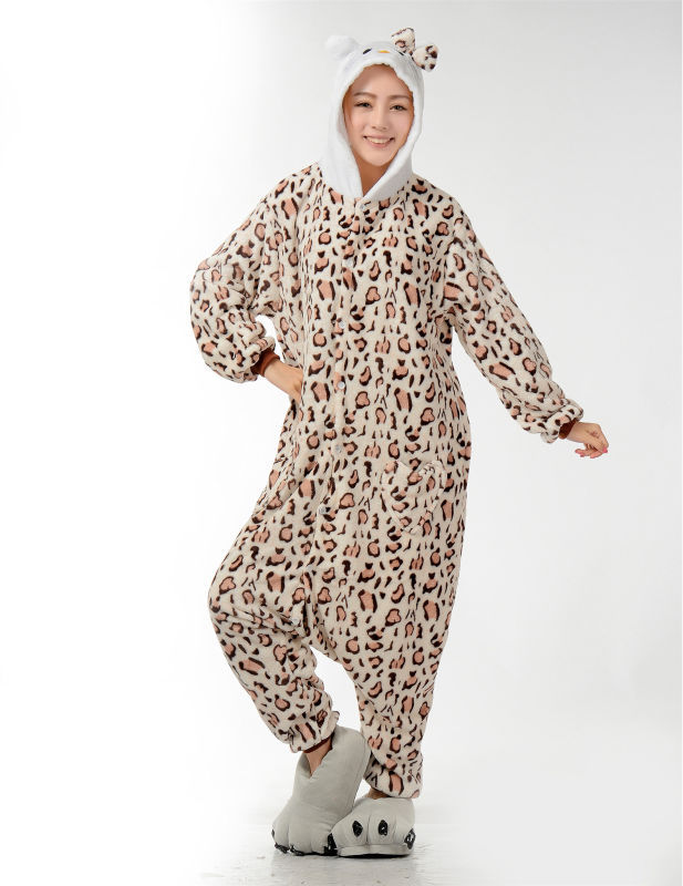 Muški dame crtani leopard Onesies za odrasle pidžame Onsie Pidžame - Ženska odjeća - Foto 2