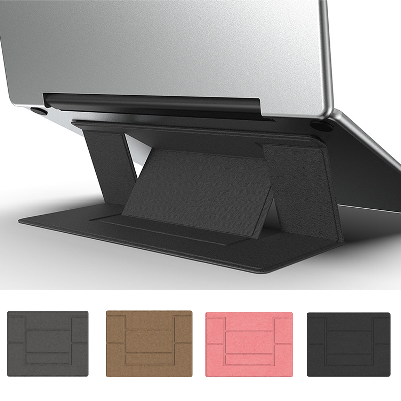 Universal Laptop Stand Holder Portable Ultra-Thin Invisible Laptop Stand Support Detachable Adjustable Laptop  For Macbook Pro