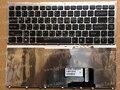 Новый АР Арабский Клавиатура для Sony Vaio VGN-FW VGN FW Серия (с Серебряной Оправе) Черный клавиатура Ноутбука