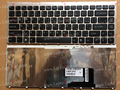 New AR Arabic Keyboard for Sony Vaio VGN-FW VGN FW Series (with Silver Frame) Black Laptop keyboard