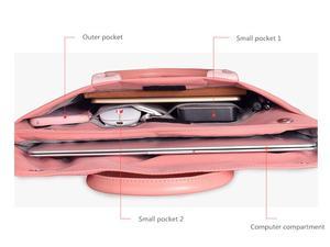 Image 4 - Laptop Tas Nylon Waterdichte Laptop Case Business Laptop Sleeve Voor Vrouwen 13.3 14.1 15.6 inch voor Macbook Pro Case Mannen