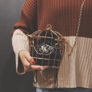 Women's Birdcage Evening Bag C