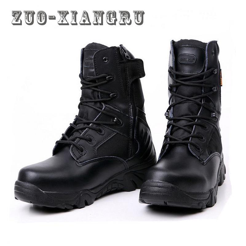 Hommes Réfléchissante Sécurité Chaussures Bottes Ponction De Preuve Protection Embout Plein 2 Travail En 1 Respirant Au Air Stable Désert Occasionnel FIq0F6wr