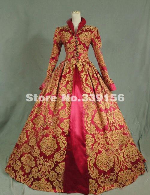Customized Printed Queen Elizabeth Victorian Tudor