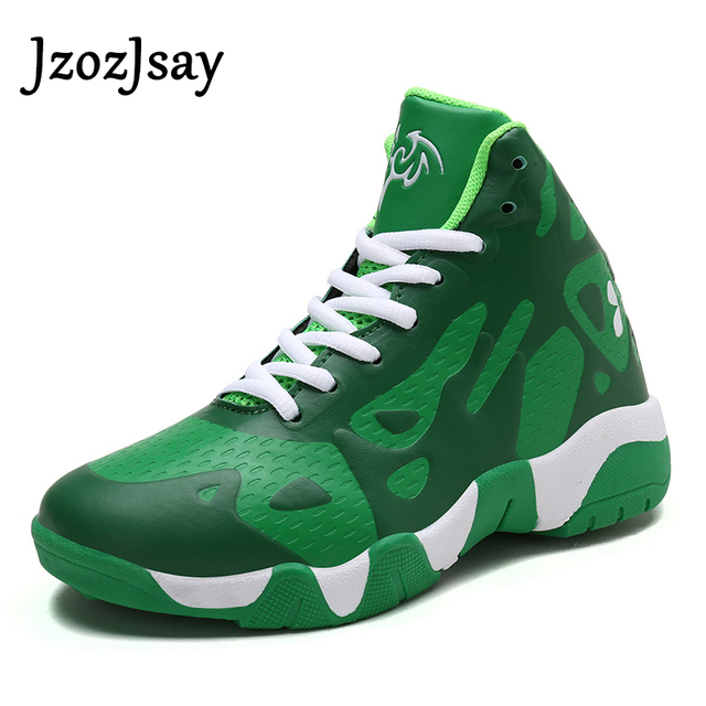 High Quality Youth Men women Basketball Shoes Leather Autumn Air Sneakers  Men Breathable Trainers Basket Boots kid Basketbol 34fda0f988