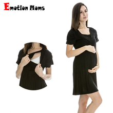 Hot wholesale!!! Free shipping Fashion pregnant woman vintage maternity dress nursing