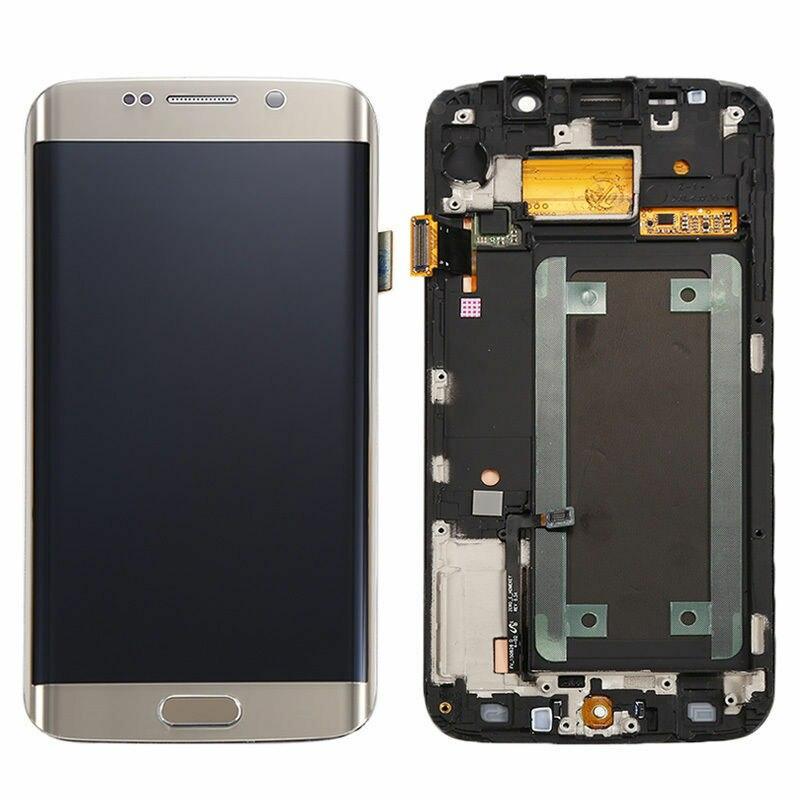 100% тестирование сборки для Samsung Galaxy S6 край ЖК дисплей + сенсорный экран планшета с Инструменты