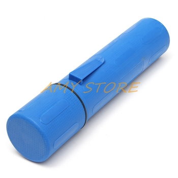 80 x 85 x 380mm Blue 10LB 4.5KG Rod Guard Welding Weld Electrode Rod Storage Hanging Tube Container Hold Cannister