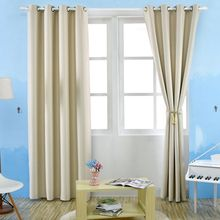 bedroom curtains blackout thermal solid window curtain for living room decor hot salechina