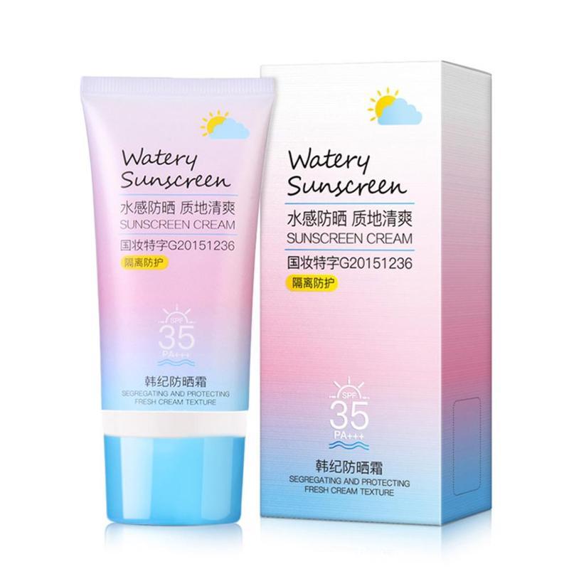 Suncreen Cream Whitening Moisturizing Spf50 Protetor Crema Solar Sunscreen Facial Cream Sun Block Anti UV Isolation 50g