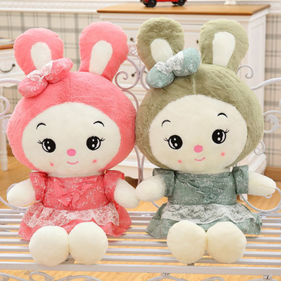 Big Peluche Lapin Kawaii Rabbit Plush Toy Girls Gifts Birthday Doll Pink Kawaii Stuffed Animal Bunny Rabbit Toy Soft 70C0400 90cm large stuffed plush rabbit toy korea long arms rabbit soft doll super cute