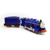 X096 Electric Thomas And Friend Hank Track Master Engine Motorized Train With Compartments Child Kids Toys
