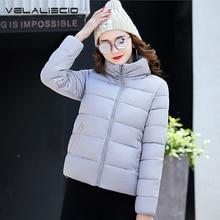VELALISCIO 2017 Winter New Men Coats Cotton Casual Clothes Bread Jacket Warm Fashion Cotton Women Big Size M-XXL