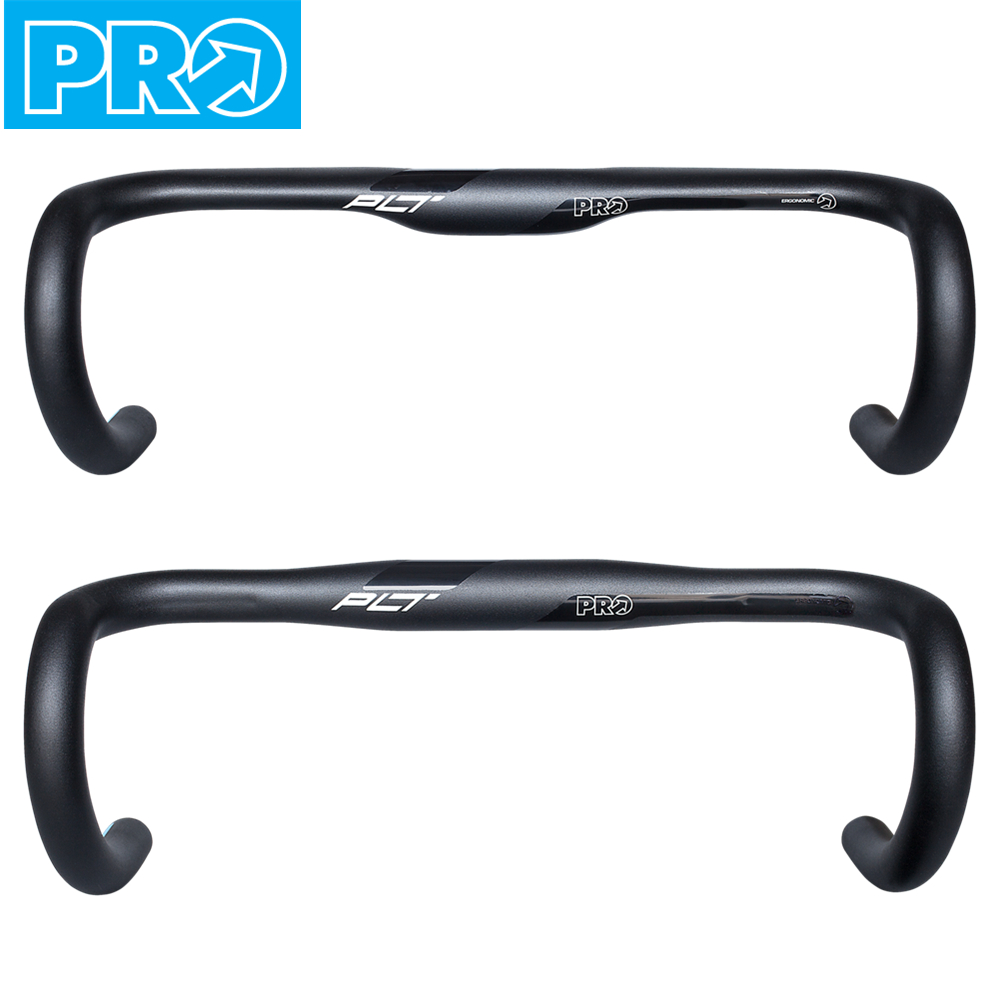 SHIMANO PRO PLT Ergo Road Bike Handlebar Bicycle Drop Bar 31.8mm Compact Bend