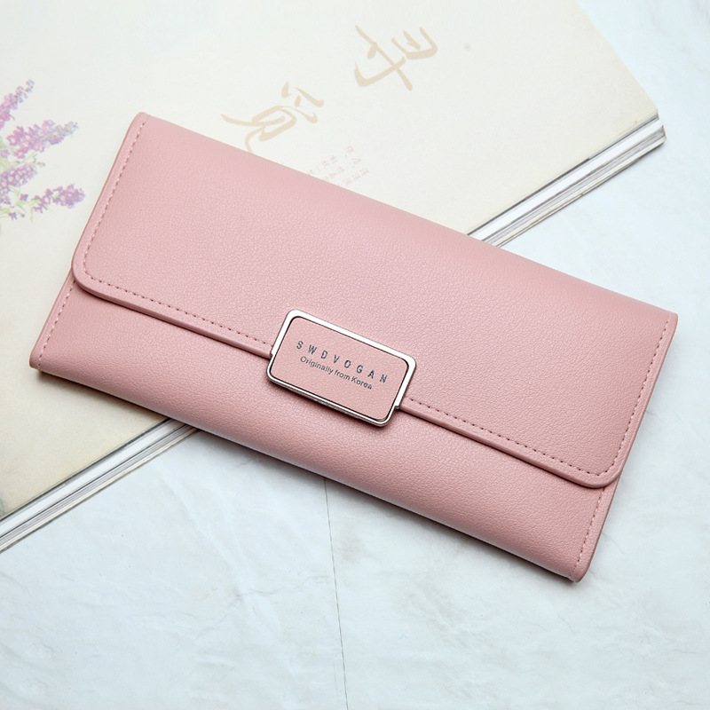 2017 Quality PU Leather Long Women Girl Hasp Zipper Wallet Purse Female Dollar price Coin Card Holders Wallets Carteira Feminina candy leather clutch bag women long wallets famous brands ladies coin purse wallet female card phone holders carteira feminina