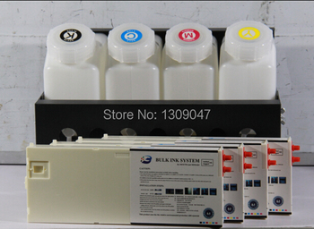 4 colors bulk ink system CISS ink system with inkbag cartridge for Mutoh 1204 printer