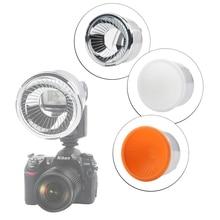 Lambancy Dome Flash Diffuser for Canon 430EX 580EX 600EX Nikon SB600 SB700 Sony A6000 X3000 DSLR Camera Accessories