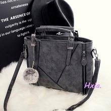 Free shipping, 2016 new fashion handbags, casual shoulder bag, European and American fashion messenger bag, matte strap handbags