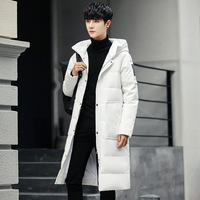 Brand men jacket down & parkas 2018 coat thick man jacket warm parka Chaquetas long outdoors down jacket