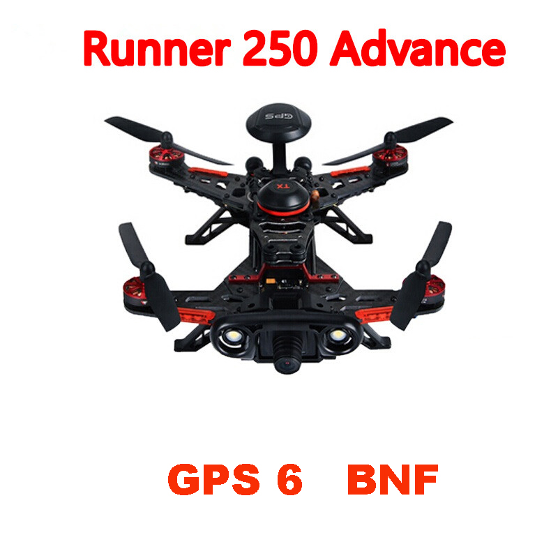 Walkera Runner 250 Advance BNF without Transmitter with 1080P Camera / GPS/ OSD RC Racer Drone Quadcopter GPS 6 Version walkera runner 250 advance bnf without transmitter gps rc drone quadcopter with battery osd 800tvl camera backpack