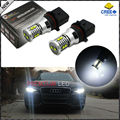 Exclusivo diseño Free Error Blanco Super Brillante 10-SMD P13W SH24W Bombillas LED Para 2008-2012 Audi A4 Q5 Diurna Running Lights