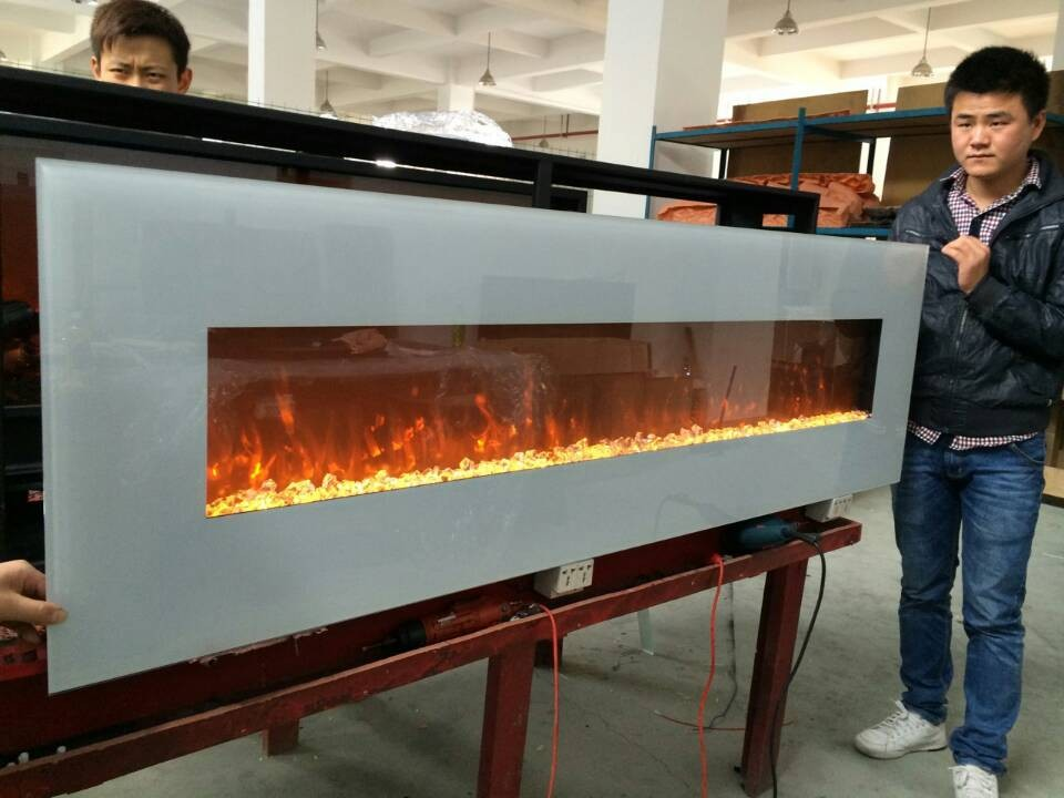Free Shipping 72 Inch Pebbles Decor Flame Electric Fireplace Wall Mounted In Fireplaces From Home Liances On Aliexpress Alibaba Group