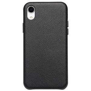 Image 2 - QIALINO ультра тонкая задняя крышка из натуральной кожи для Appole iPhone XR роскошный ручной работы Тонкий чехол для телефона для iPhone XR 6,1 дюймов