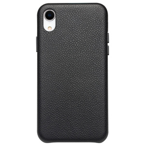 Image 2 - QIALINO Ultra Thin Genuine Leather Back Cover for Appole iPhone XR Luxury Handmade Slim Phone Case for iPhone XR 6.1 inches