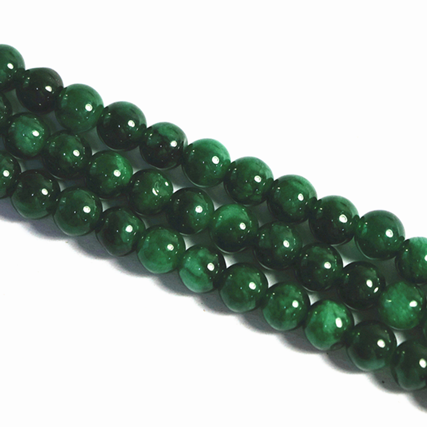 3 types natural stone loose beads green chalcedony gallocyanine ...