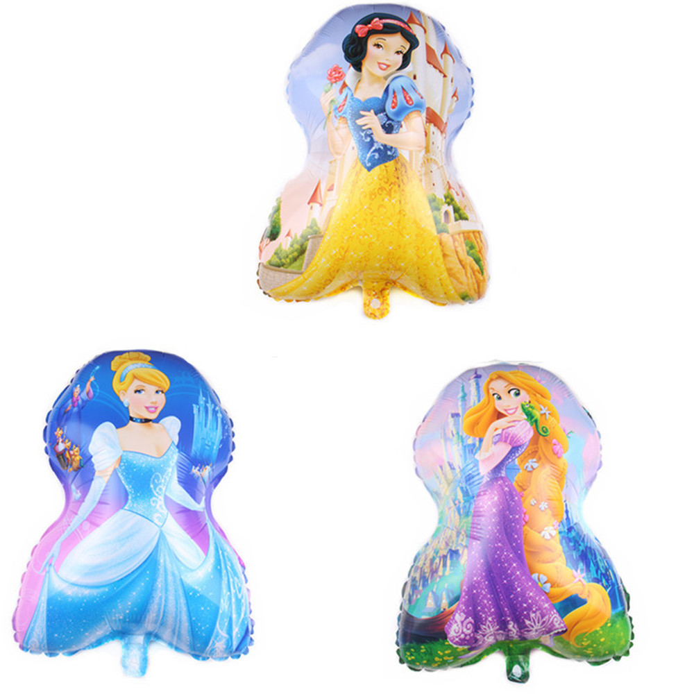 Cartoon Hat Big Size Princess  Themed Party Decor Helium Balloons Birthday Wedding Party Dot Latex Balloon Kid Toys Baby Ha