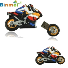 Top Quality Hot Pen Drive Cartoon Motorcycle 8GB Bulk Usb Flash Drive Motor Flash Memory Nurse MAY24