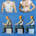 ¡ VENTA CALIENTE! masculino Ajustable Imán Corsé Volver Hombres Brace Corrector de Postura Espalda Cinturón de Soporte Lumbar Recta Corretor De Postura