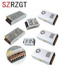 Adaptador AC85 265V CCTV/Fuente de alimentación de tira LED de 110V, 220V a 12V, 1A, 2A, 3A, 5A, 10A, 15A, 20A, 30A, 40A, 50A