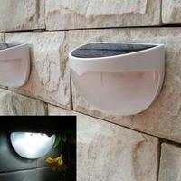 6 LED Solar Lamp Waterproof Outdoor Garden Decoration Solar Power Panel Landscape Lawn Fence Gutter Wall