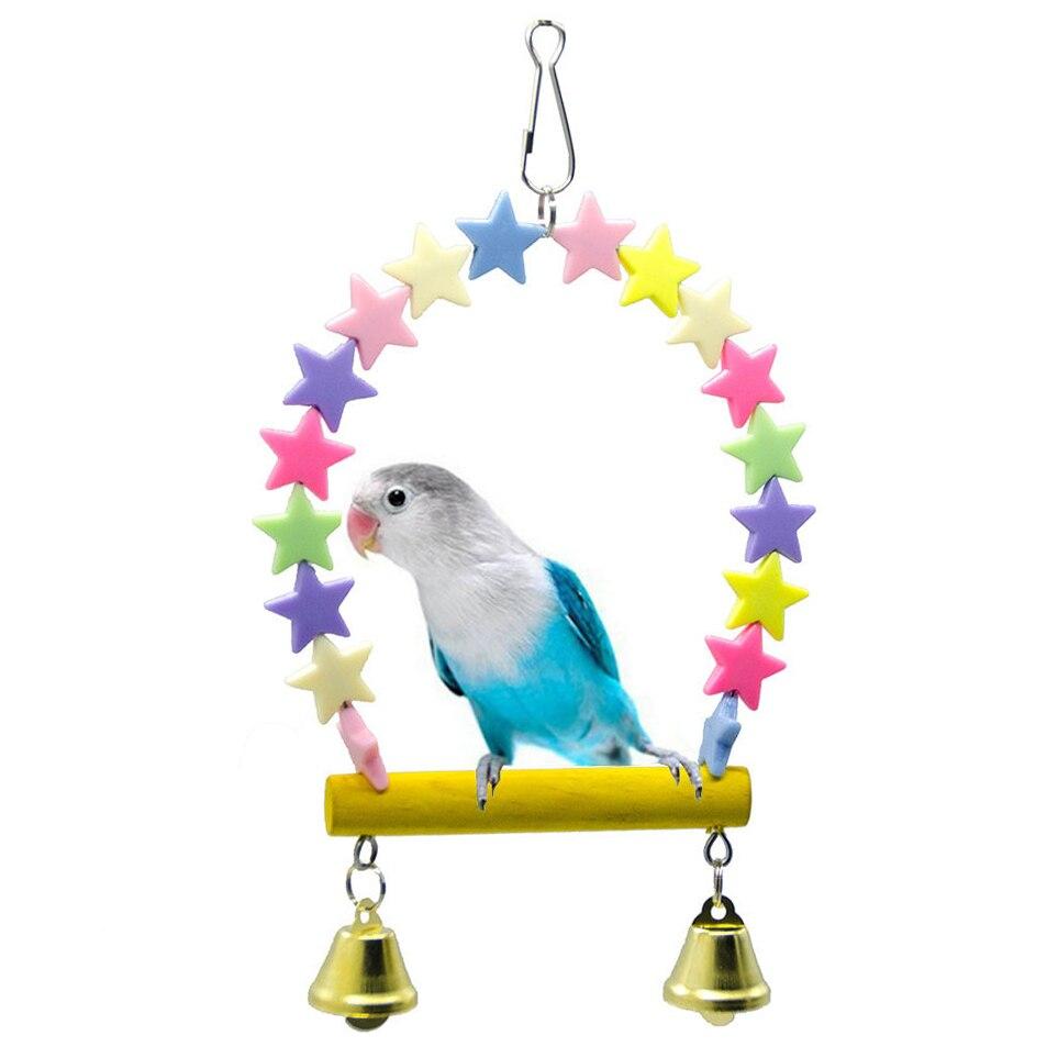 Parrot, Perch, Supplies, Swing, Budgie, Bird