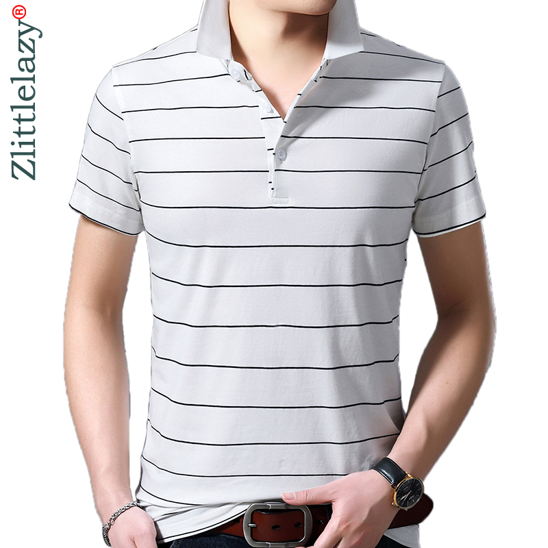 2019 brand casual summer striped short sleeve   polo   shirt men poloshirt jersey luxury mens   polos   tee shirts dress fashions 42220