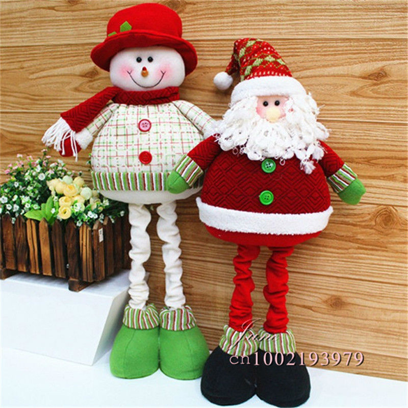de navidad para el hogar adornos navidad unidslote alargada de peluche juguetes