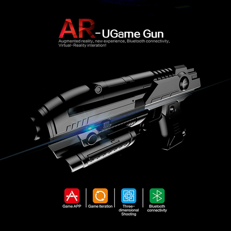 VR Game AR GUN Shooting Game Smartphones Bluetooth Control Toy for IOS Android Air Guns Toy Gun For Kids Boys Girls Toy Gun in Toy Guns from Toys Hobbies