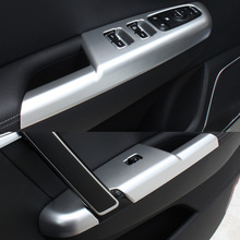 For KIA Sportage QL 2016 2017 Accessories LHD Door Window glass Lift Control Switch Panel Cover Trim Interior Decoration 4pcs