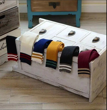Football Stripes Cotton Old School Children Socks