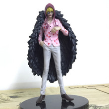 17cm Japan Anime One Piece Corazon Great All For My Heart PVC Action Figure  Brother Collection Model Toy Gift