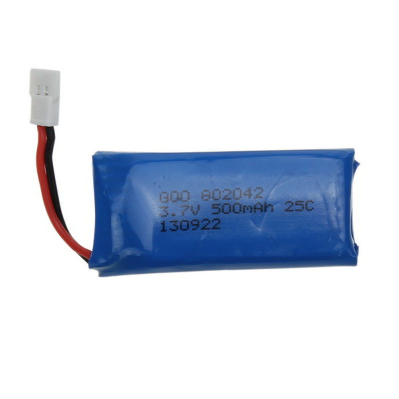 Hubsan X4 H107 H107L H107C H107D 3.7V 500mAh Battery For V252 JXD385 RC Multirotor Quadcopter Models