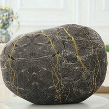 DOBOXUAN Home Decor Creative 3D Simulation Stone Cushions