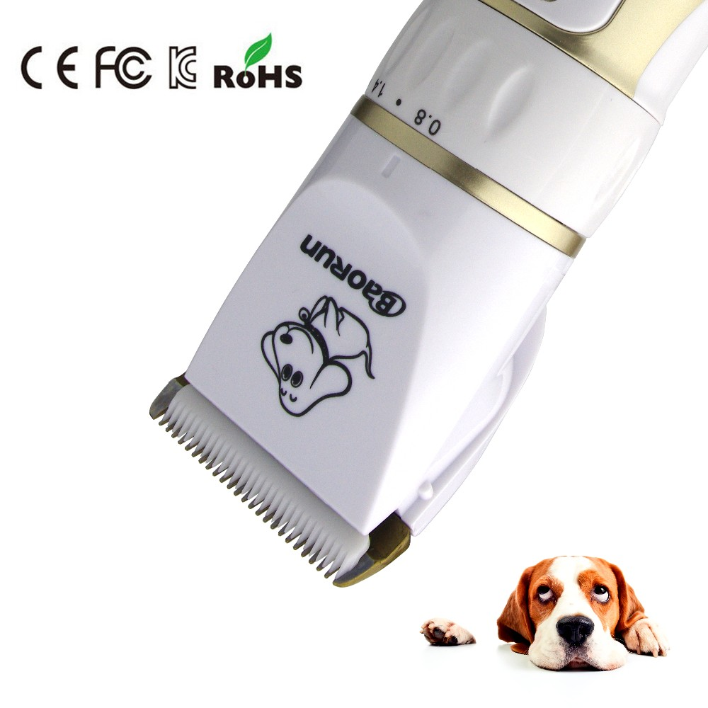 Rechargeable Low-noise Cat Dog Hair Trimmer Electrical Pet Hair Clipper Remover Cutter Grooming Pets Accessories Haircut 4