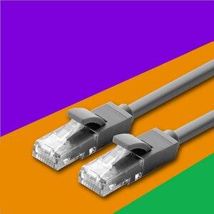 Image 1 - 50 pcs 이더넷 케이블 고속 rj45 8p8c 네트워크 lan 케이블 라우터 컴퓨터 이더넷 케이블 pc 라우터 노트북