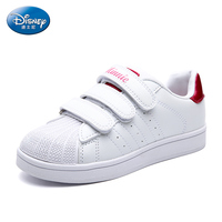 Disney Children S White Sports Flats Shoes Boys Girl Spring Autumn Sneakers Leisure Casual Loafers Joker