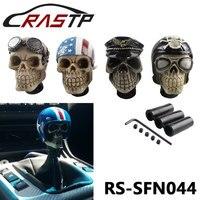 Rastp-Бесплатная доставка Гонки черепа сдвиг солдат шляпа череп с 3 вида фитинги RS-SFN044
