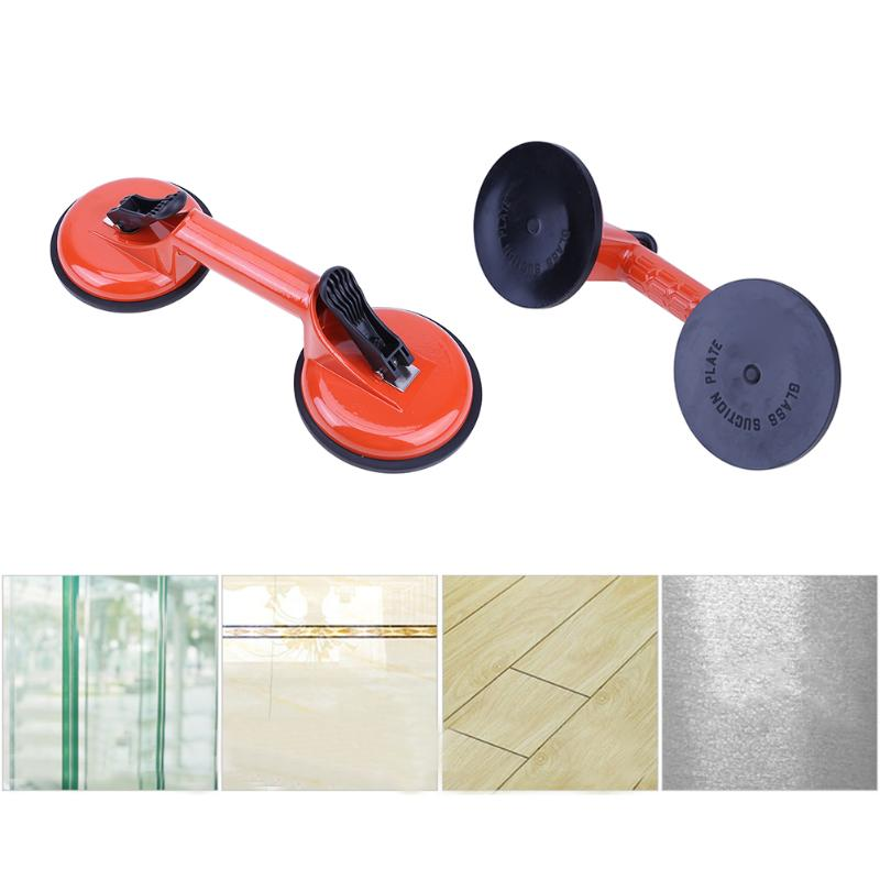 Aluminium Alloy 75kg 80kg Glass Double Suction Cups Dent Remover Sucker Puller Car Glass Suction Cup