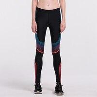 Hot Sales New Push Up Leggings Summer Men Women Skinny Elastic Patchwork Print Sports Leggings Pants