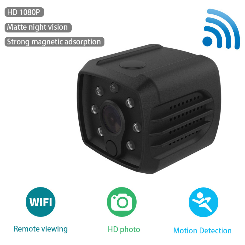 <font><b>Mini</b></font> <font><b>Camera</b></font> Micro <font><b>WIFI</b></font> Full HD <font><b>1080P</b></font> smallest Cam With Smartphone App Night Vision IP Home Security Video Cam Camcorder DV DVR image